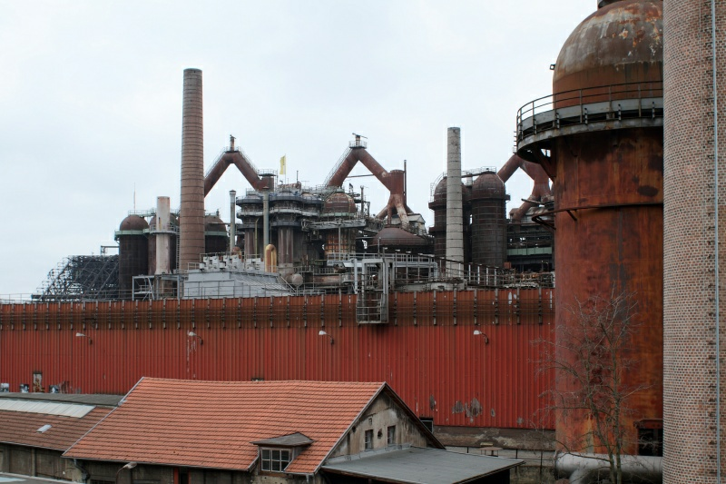 Usine sidérurgique de Völklingen   |  Vöklinger Hütte